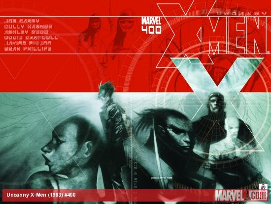 The Uncanny X-Men #400 full cover