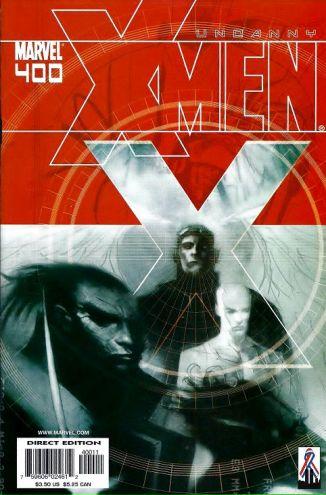 The Uncanny X-Men #400 cover