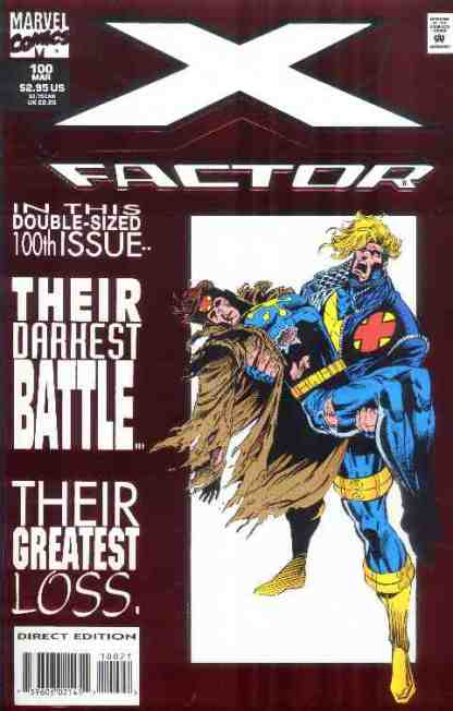 X-Factor comic book cover #100