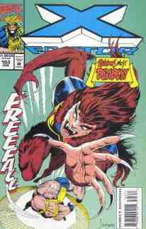 X-Factor comic book cover #103
