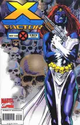 X-Factor comic book cover #108