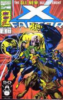 X-Factor comic book cover #71