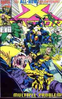 X-Factor comic book cover #73