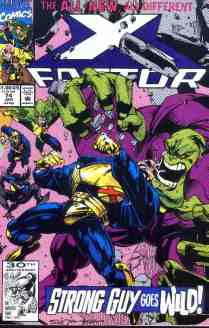 X-Factor comic book cover #74
