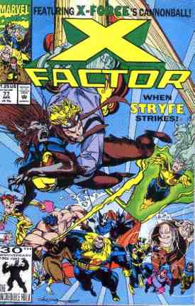 X-Factor comic book cover #77