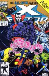 X-Factor comic book cover #78