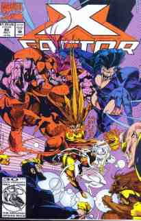 X-Factor comic book cover #80