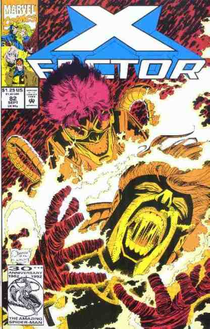 X-Factor comic book cover #82