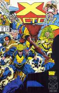 X-Factor comic book cover #87