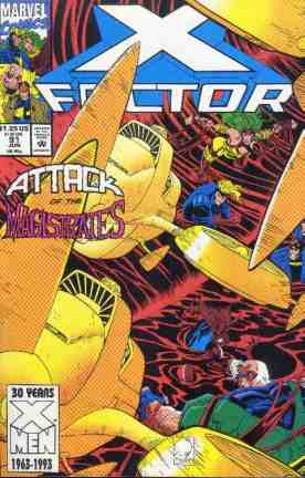 X-Factor comic book cover #92
