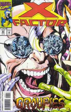 X-Factor comic book cover #93