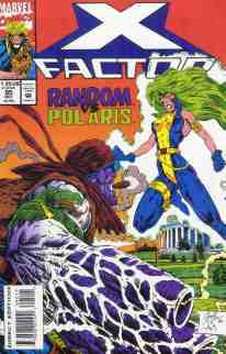 X-Factor comic book cover #95