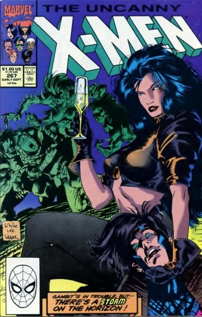 Uncanny X-Men comic book cover #267