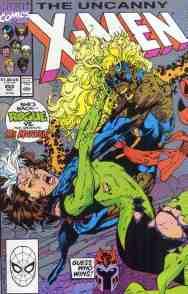 Uncanny X-Men comic book cover #269