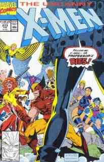 Uncanny X-Men comic book cover #273