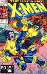 Uncanny X-Men comic book cover #277