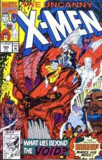 Uncanny X-Men comic book cover #284