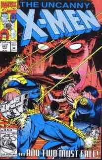Uncanny X-Men comic book cover #287