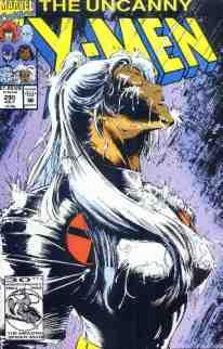Uncanny X-Men comic book cover #290