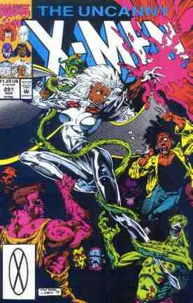 Uncanny X-Men comic book cover #291