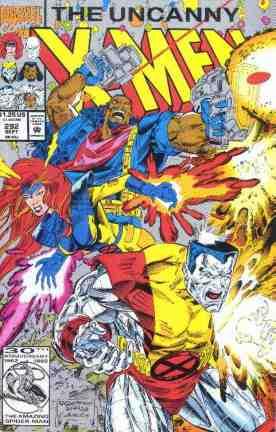 Uncanny X-Men comic book cover #292