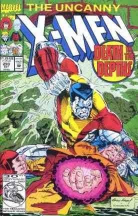 Uncanny X-Men comic book cover #293