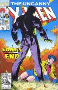 Uncanny X-Men comic book cover #297 (Executioner's Song