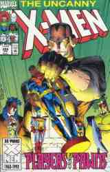 Uncanny X-Men comic book cover #299