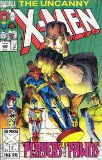 Uncanny X-Men comic book cover #299