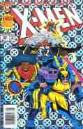 Uncanny X-Men comic book cover #300 (holofoil)