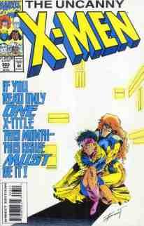 Uncanny X-Men comic book cover #303