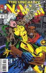 Uncanny X-Men comic book cover #305