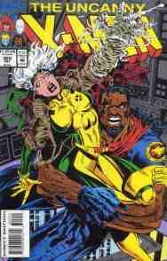 Uncanny X-Men comic book cover #305