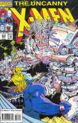 Uncanny X-Men comic book cover #306
