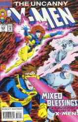 Uncanny X-Men comic book cover #308