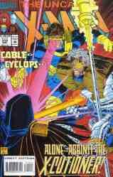 Uncanny X-Men comic book cover #310