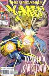 Uncanny X-Men comic book cover #311