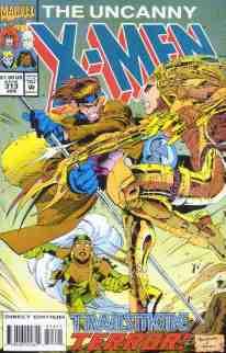 Uncanny X-Men comic book cover #313