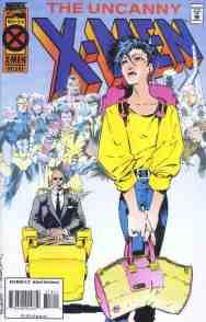 Uncanny X-Men comic book cover #318