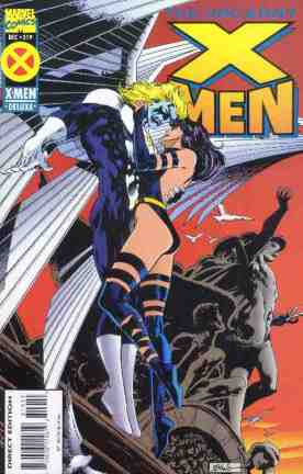 Uncanny X-Men comic book cover #319