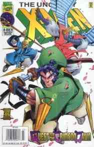Uncanny X-Men comic book cover #330
