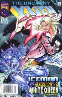Uncanny X-Men comic book cover #331