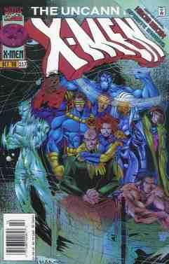 Uncanny X-Men comic book cover #337
