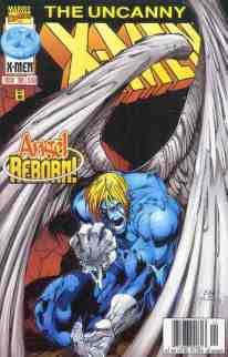 Uncanny X-Men comic book cover #338