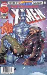 Uncanny X-Men comic book cover #340