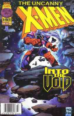Uncanny X-Men comic book cover #342