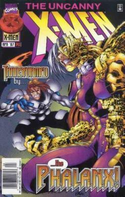 Uncanny X-Men comic book cover #343
