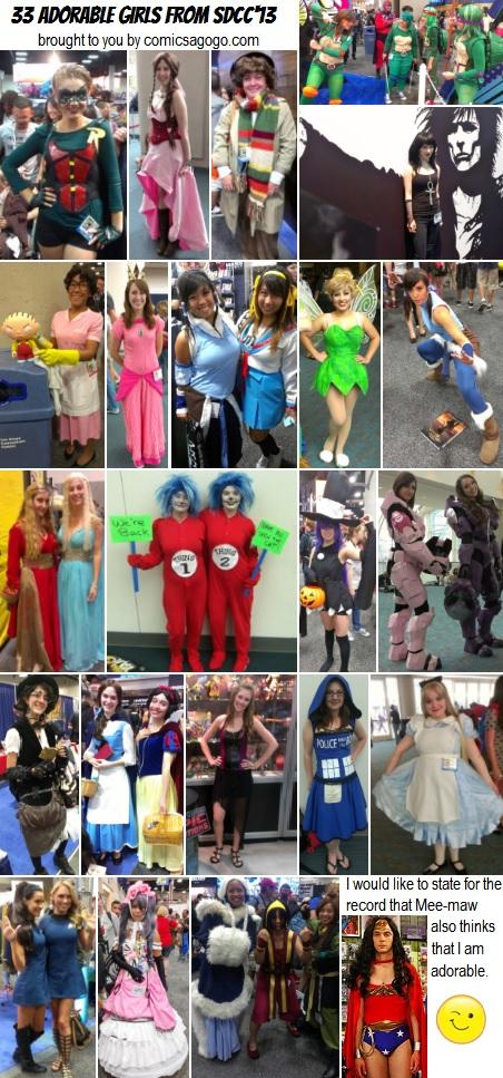 33 Adorable Cosplayers, San Diego Comic-Con 2013