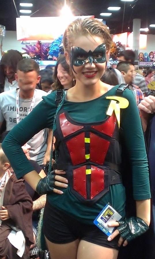 Robin Cosplay Girls at San Diego Comic-Con 2013