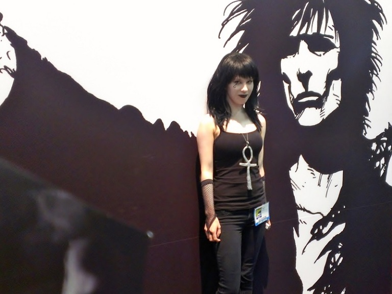 Death from Sandman Girl Cosplayer at Comic-Con 2013